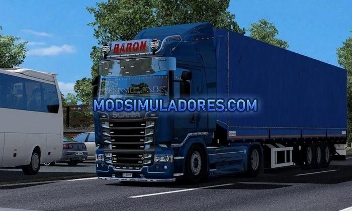 Caminhão Scania Redit V.1.0 Para V.1.35.X - ETS2