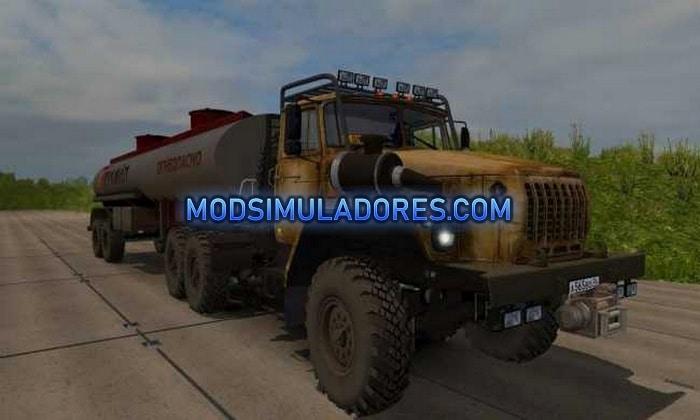 Caminhão Ural 4320 Para V.1.36.X - ETS2