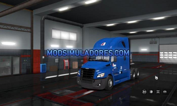 Caminhão Freightliner Cascadia 2019 V.2.0 Para V.1.36.X - ETS2