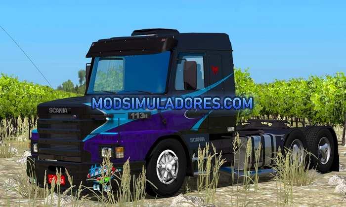 Caminhão Scania 113 Bicuda Para V.1.36.X - ETS2