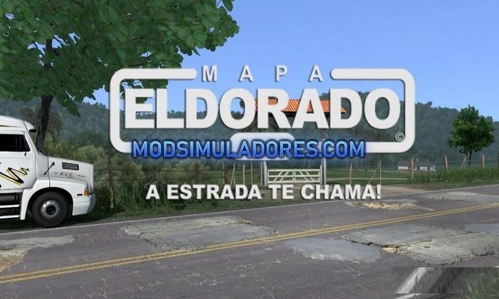 Mapa ElDorado Brasileiro V.1.7.5 Para V.1.36.X - ETS2