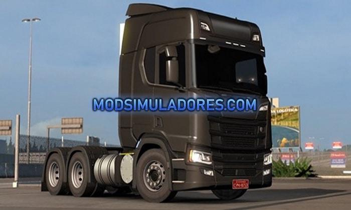 Caminhão Scania Próxima Geração Edit BR Para V.1.36.X - ETS2