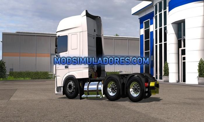 Caminhão Daf Euro 6 BR V1.0 Para V.1.36.X - ETS2