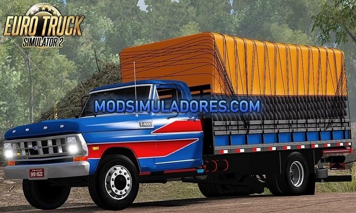 Caminhão Ford F-4000 Para V.1.36.X - ETS2