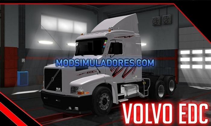 Caminhão Volvo NL12 EDC V.1.5 Para V.1.36.X - ETS2
