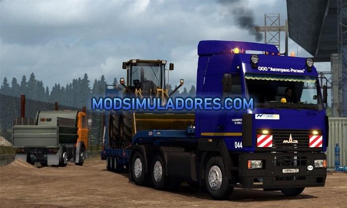 Caminhão Maz 6430 A5 V.1.1 Para V.1.36.X – ETS2