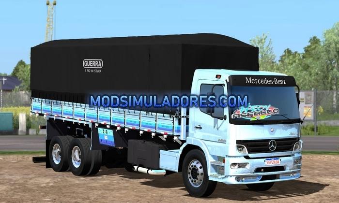 Caminhão Mercedes Benz Atego 2425 Graneleiro Para V.1.36.X – ETS2