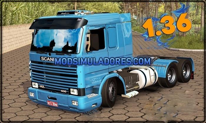 Caminhão Scania 113H Frontal Para V.1.36.X – ETS2