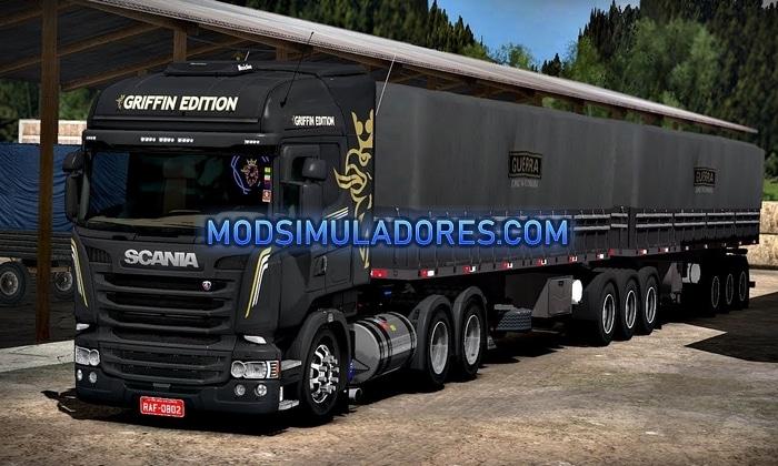 Caminhão Scania R440 Griffin Edition Para V.1.36.X – ETS2