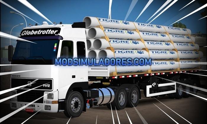 Caminhão Volvo FH12 Qualificado Para V.1.36.X – ETS2