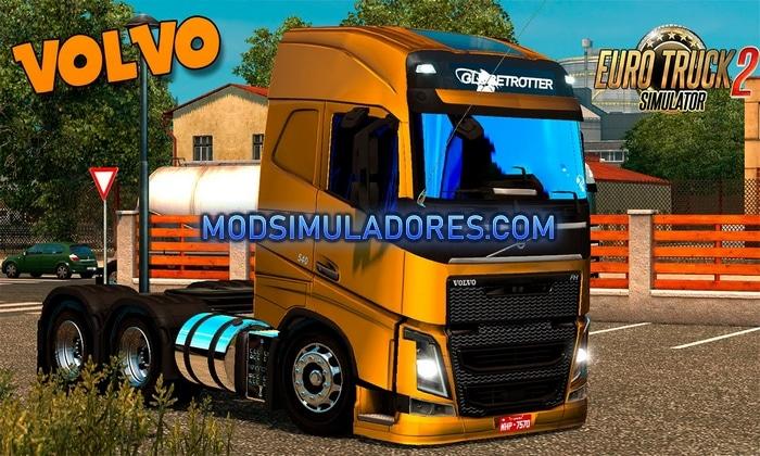 Caminhão Volvo FH16 Qualificado Para V.1.36.X – ETS2