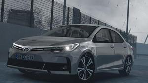 Carro Toyota Corolla 2018 V1R30 Para V.1.37.X - ETS2