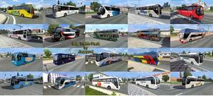 Pack de Ônibus Para o Tráfego V.9.5 Para V.1.37.X - ETS2