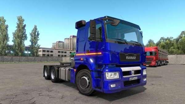 Caminhão Kamaz Om457 Para 1.37 – ETS2