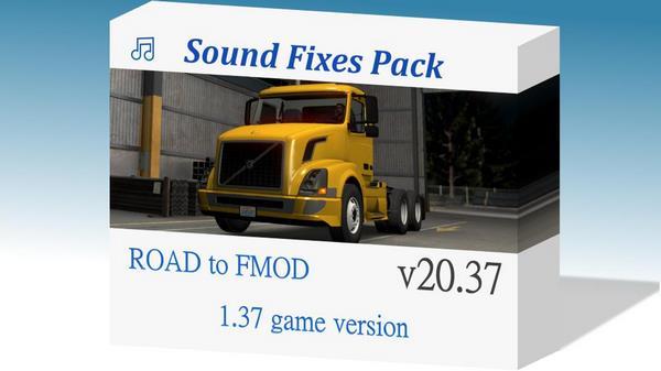 Pack Correções do Som V.20.37 Para 1.37 – ETS2