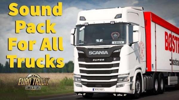 Pack Sons para Caminhões V.2.0 Para 1.37 – ETS2