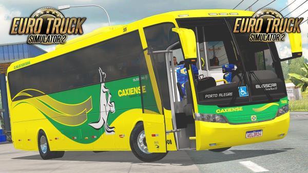 Busscar Vissta Buss Scania K124 Para 1.38 – ETS2