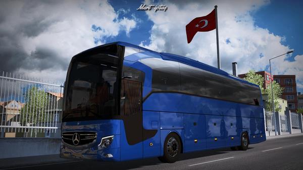 ETS2 Ônibus Mercedes Benz Travego X 2020 V.2.0 Para 1.38