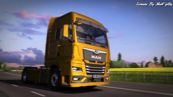 ETS2 Caminhão MAN TGX 2020 Para 1.38