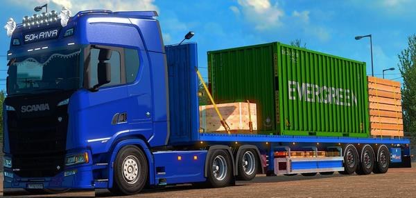 ETS2 Reboque Container Edit V.0.5 Para 1.37
