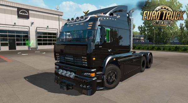 Kamaz 6460 Turbo Diesel V.8 Para 1.38 - ETS2