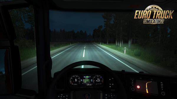 Luzes Melhoradas para Caminhões V.1.1 Para 1.38 – ETS2