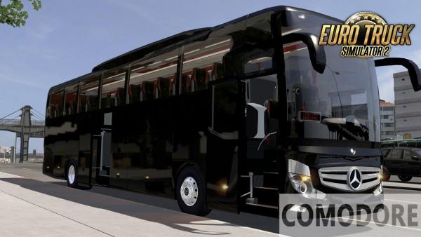 Mercedes Benz Travego 15-16 SHD V.2.0 Para 1.38 - ETS2