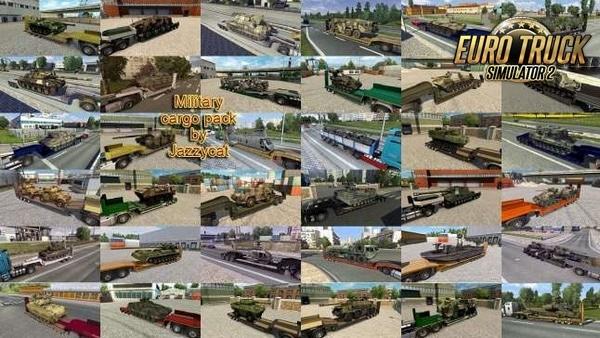 Pack Veículos Militares no Tráfego V.4.5 Para 1.37 - ETS2