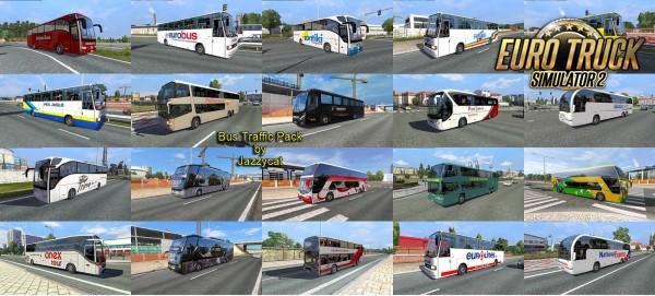 Pack de Ônibus Para o Tráfego V.9.9 Para 1.37
