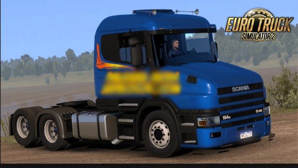 Caminhão Scania 124G Bicuda Para ETS2 V.1.38