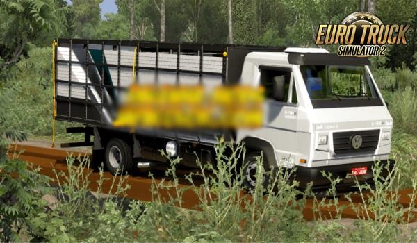 Caminhão Volkswagen Delivery Boiadeiro Para ETS2 V.1.38