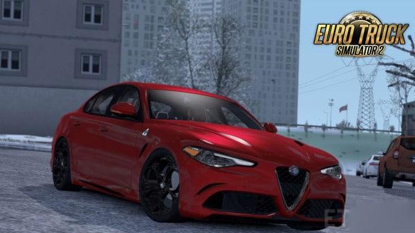 Carro Alfa Romeo Giulia Para 1.38 – ETS2