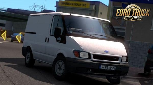 Carro Ford Transit MK6 Para 1.38 – ETS2