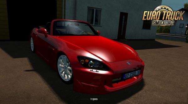 Carro Honda S2000 V1R40 Para 1.38 – ETS2