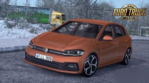 Carro Volkswagen Polo 2020 Para 1.38  – ETS2
