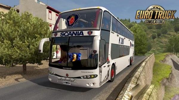 Marcopolo G6 1800 DD 6X2 Bus Mod Para 1.38 – ETS2