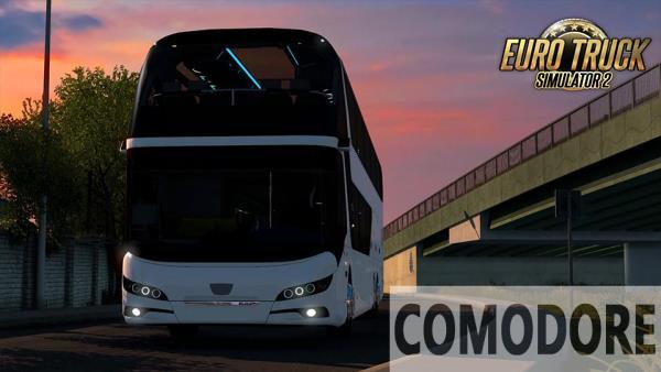 Ônibus Neoplan Skyliner 2020 V.1.0 Para 1.38 – ETS2