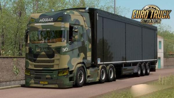 Skin Camuflada Para Scania S Para 1.38 – ETS2