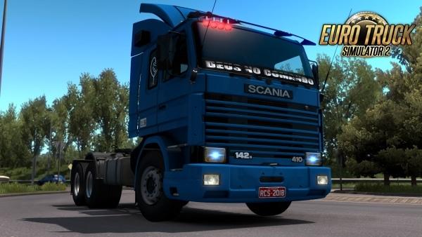 Caminhão Scania 112 Para V.1.38.X – ETS2