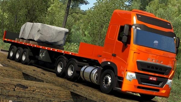 Caminhão SinoTruck Howo Para V.1.38.X - ETS2