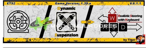 ETS2 Mod Suspensão dinâmica V6.1.2 Para 1.39