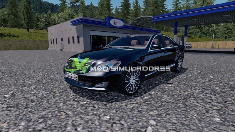 Carro Mercedes-Benz S350 Para V.1.39.X - ETS2