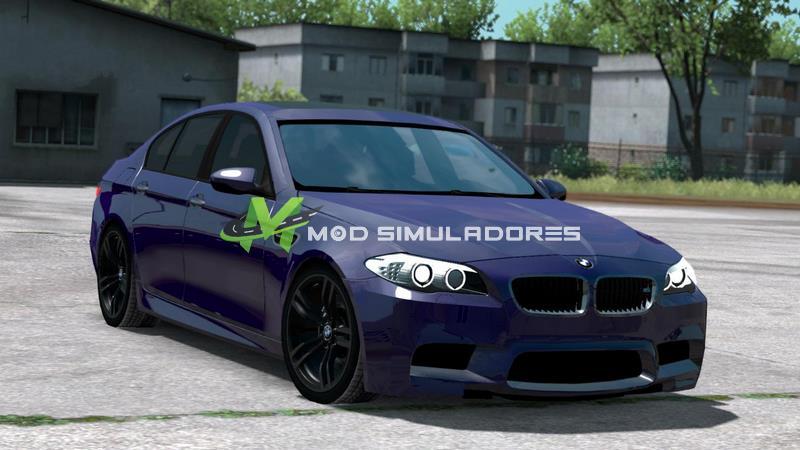 Mod Carro BMW M5 F10 Sedan Para V.1.39.X - ETS2