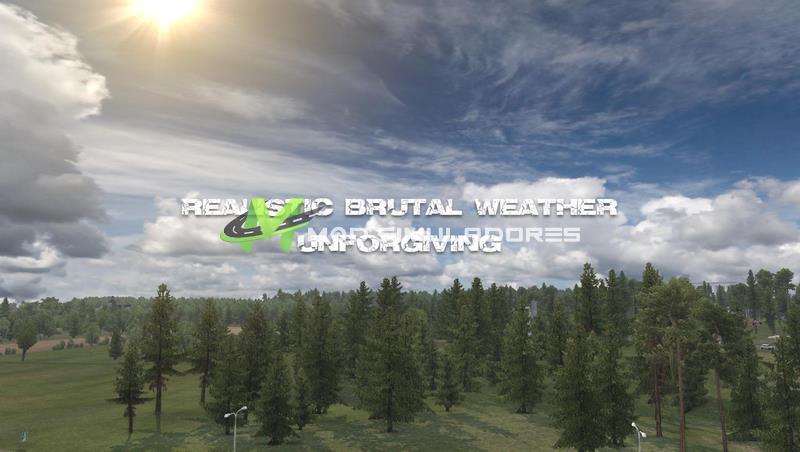 Clima Brutal Realista V.5.9 Para V.1.39.X - ETS2