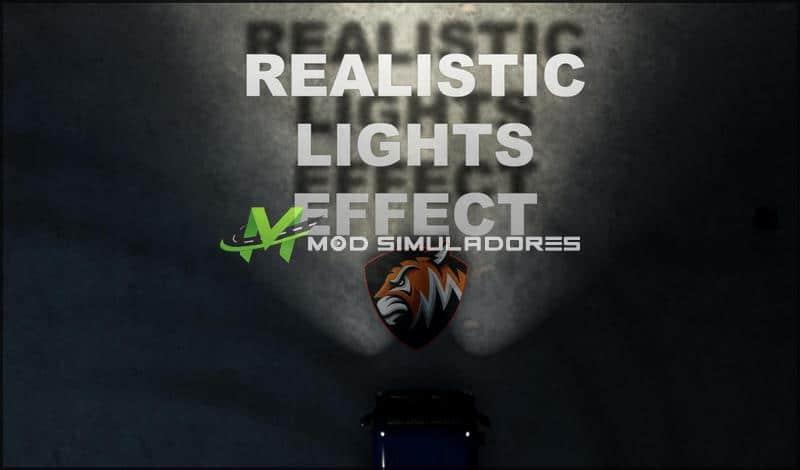 Mod Efeito de luzes realistas V1.0 Para V.1.39.X - ETS2