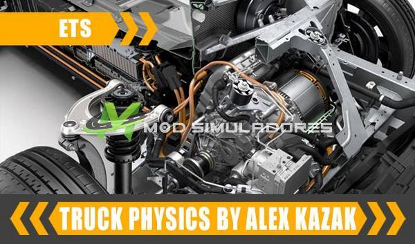 Mod Física dos Caminhões V.0.3.1 Para V.1.39.X - ETS2