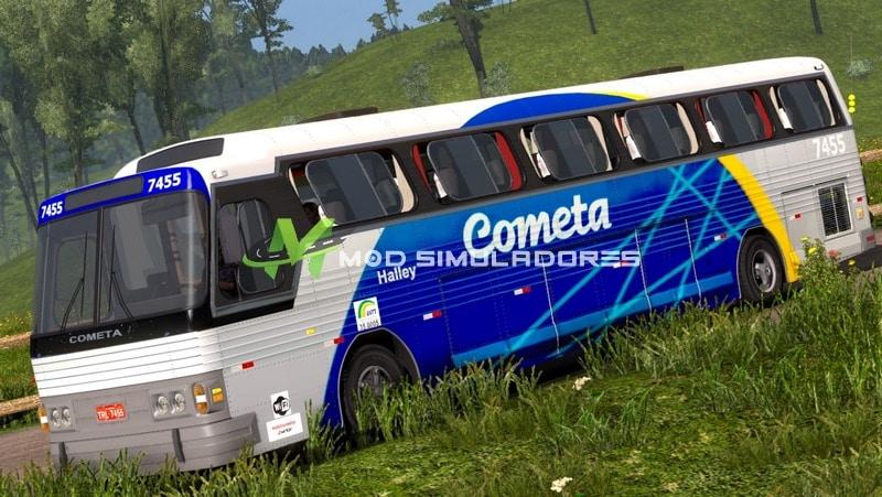 Ônibus CMA Flecha Azul II Para V.1.39.X - ETS2