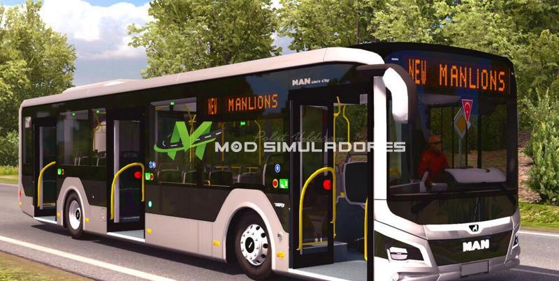 Ônibus New Man Lions City Para V.1.39.X - ETS2