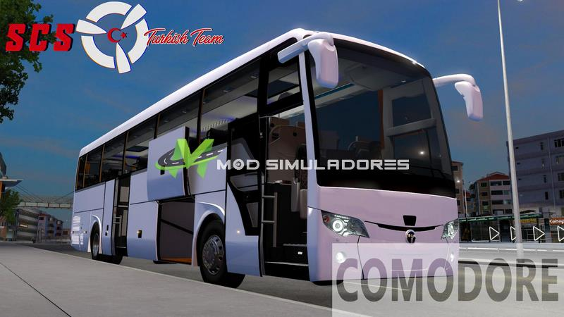 Ônibus Temsa Safir Plus 2018 Bus V2.5 Para V.1.39.X - ETS2