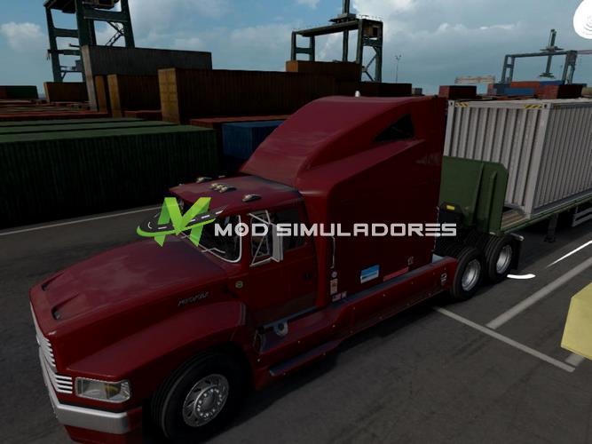 Caminhão Ford Aeromax Truck V1.0 Para V.1.39.X - ETS2